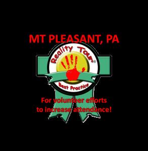 Mt. Pleasant Best Practice Award - Volunteer