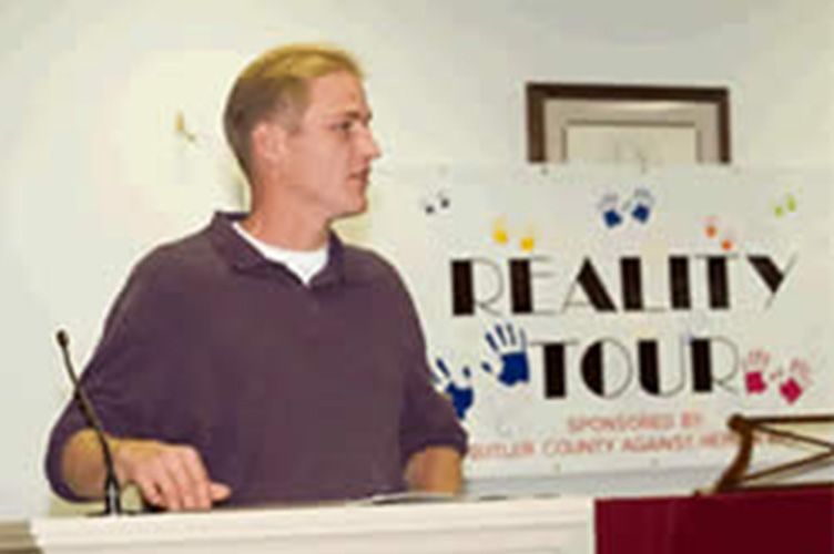 reality tour interview with recovery speaker