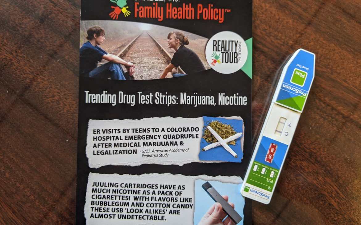 family health policy home drug testing strips